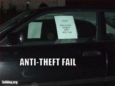 Anti Theft Classic Car